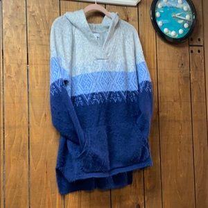 Cozy Sonoma hooded sweater 1X